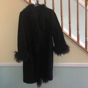 Jackets & Blazers - Black Women's Wool Coat